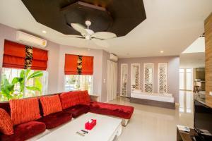 Tamnak Beach House, Ferienhäuser  Na Jomtien - big - 8
