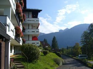 obrázek - Sonniges Appartement mit Balkon und Bergblick