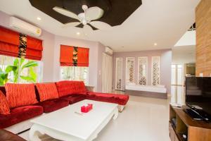 Tamnak Beach House, Ferienhäuser  Na Jomtien - big - 25