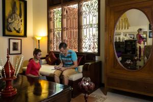 HanumanAlaya Colonial House, Hotely  Siem Reap - big - 63
