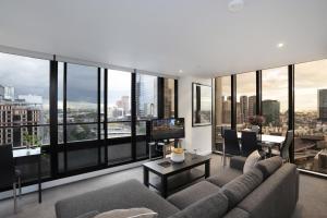 Aura on Flinders Serviced Apartments, Aparthotels  Melbourne - big - 53