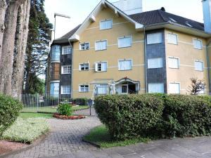 Apartamento 01 dormitório no Centro de Gramado, Апартаменты  Грамаду - big - 2