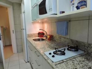 Apartamento 01 dormitório no Centro de Gramado, Апартаменты  Грамаду - big - 5