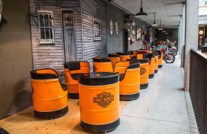 Penzion Harley Pub, Penzióny  Otrokovice - big - 12