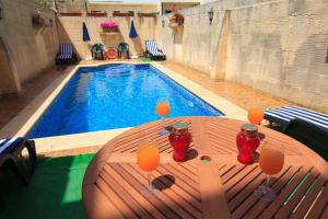 Ta' Bejza Holiday Home with Private Pool, Dovolenkové domy  Xewkija - big - 44