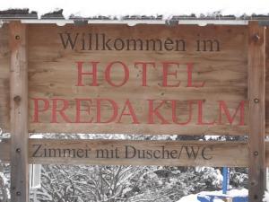 Hotel Preda Kulm.  Foto 2