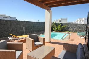 Villa Bermeja, Playa Blanca