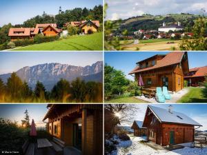 Haus Helene im Öko-Feriendorf, Holiday homes  Schlierbach - big - 9