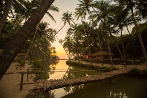 Krishna Paradise Beach Resort, Campeggi di lusso  Cola - big - 70