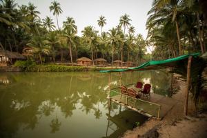 Krishna Paradise Beach Resort, Campeggi di lusso  Cola - big - 74
