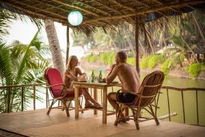 Krishna Paradise Beach Resort, Campeggi di lusso  Cola - big - 75