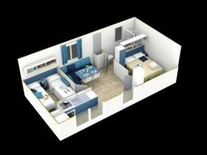 Mobile homes Soline, Villaggi turistici  Biograd na Moru - big - 12