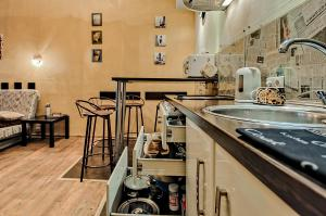 New York Studio Apartment , Апартаменты  Санкт-Петербург - big - 9