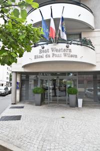 emblème de l'établissement Best Western Hotel du Pont Wilson