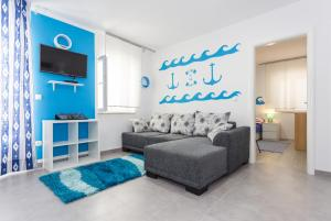 Apartments Dalmacija, Apartmanok  Omiš - big - 1