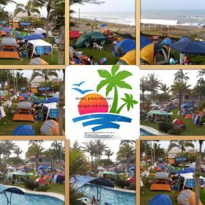 Hotel y Balneario Playa San Pablo, Отели  Монте-Гордо - big - 92