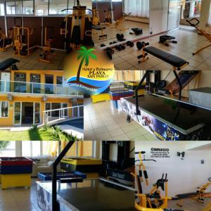 Hotel y Balneario Playa San Pablo, Отели  Монте-Гордо - big - 91