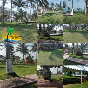 Hotel y Balneario Playa San Pablo, Отели  Монте-Гордо - big - 90