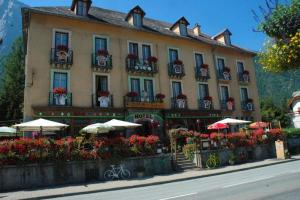 Hôtel Oberland, Отели  Le Bourg-d'Oisans - big - 37