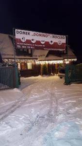 Domek Domino - Novoť