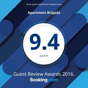 Apartment Brigada, Apartmány  Belehrad - big - 85