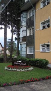 Apartamento 01 dormitório no Centro de Gramado, Апартаменты  Грамаду - big - 26