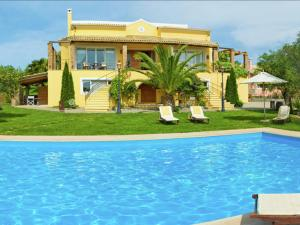 Spacious Villa in Corfu with Private Pool