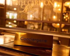 Hotel Carlton, Отели  Лилль - big - 14