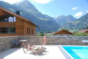 Penzion EdelWeiss AlpinLodge Matrei in Osttirol Rakousko