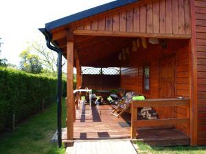 8osobowy drewniany domek Andrzej