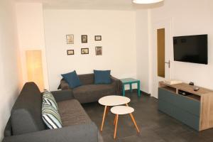Les Eucalyptus, Апартаменты  Кань-сюр-Мер - big - 1