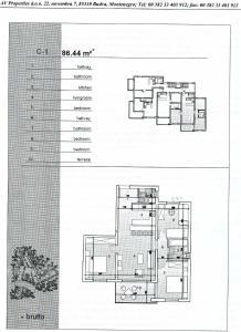 Apartment Lazareva, Apartments  Petrovac na Moru - big - 32