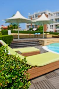 Apartments in Sunny Island Complex, Apartmánové hotely  Chernomorets - big - 71