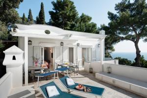 Villa Bouganvillae, Villas  Capri - big - 25