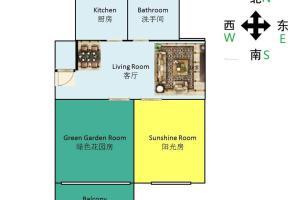 Maggie's super clean& cozy apt, Апартаменты  Шанхай - big - 23