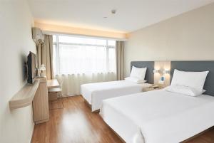 Hostels und Jugendherbergen - Hanting Hotel Wenzhou Longwan Yongqiang Avenue