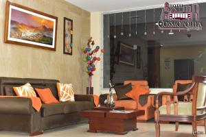 Hotel Cosmopolita Ambato, Отели  Амбато - big - 2