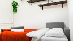 Red Black White Apartment