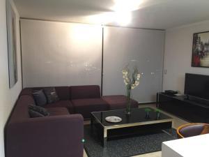Apartamento Parque Arauco Kennedy, Ferienwohnungen  Santiago - big - 15