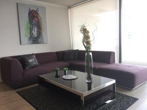 Apartamento Parque Arauco Kennedy, Ferienwohnungen  Santiago - big - 16