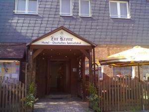 Hotel Zur Krone Seelze Německo