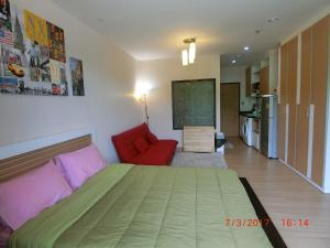 The Naithorn Condo Unit 401, Apartmanok  Naithon-part - big - 1