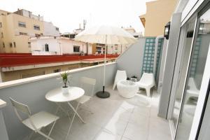Áticos Soho GrupalMalaga, Apartmány  Málaga - big - 1