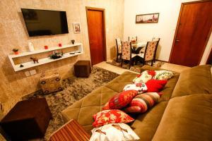 Apartamento Aconchegante Na Serra, Apartmány  Gramado - big - 1