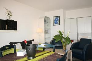 Le Semiramis 2, Apartmanok  Cagnes-sur-Mer - big - 12