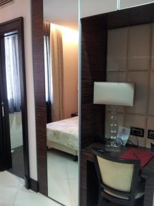 Doppel-/Zweibettzimmer mit Meerblick
