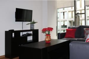 Puerta Alameda Suites, Apartmány  Mexiko - big - 34