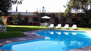 Hotel Los Mezquites, Hotel  Tequisquiapan - big - 11