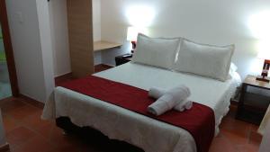 Apartahotel La Gran Familia, Апарт-отели  Вилья-де-Лейва - big - 31