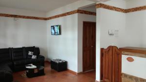 Apartahotel La Gran Familia, Апарт-отели  Вилья-де-Лейва - big - 19